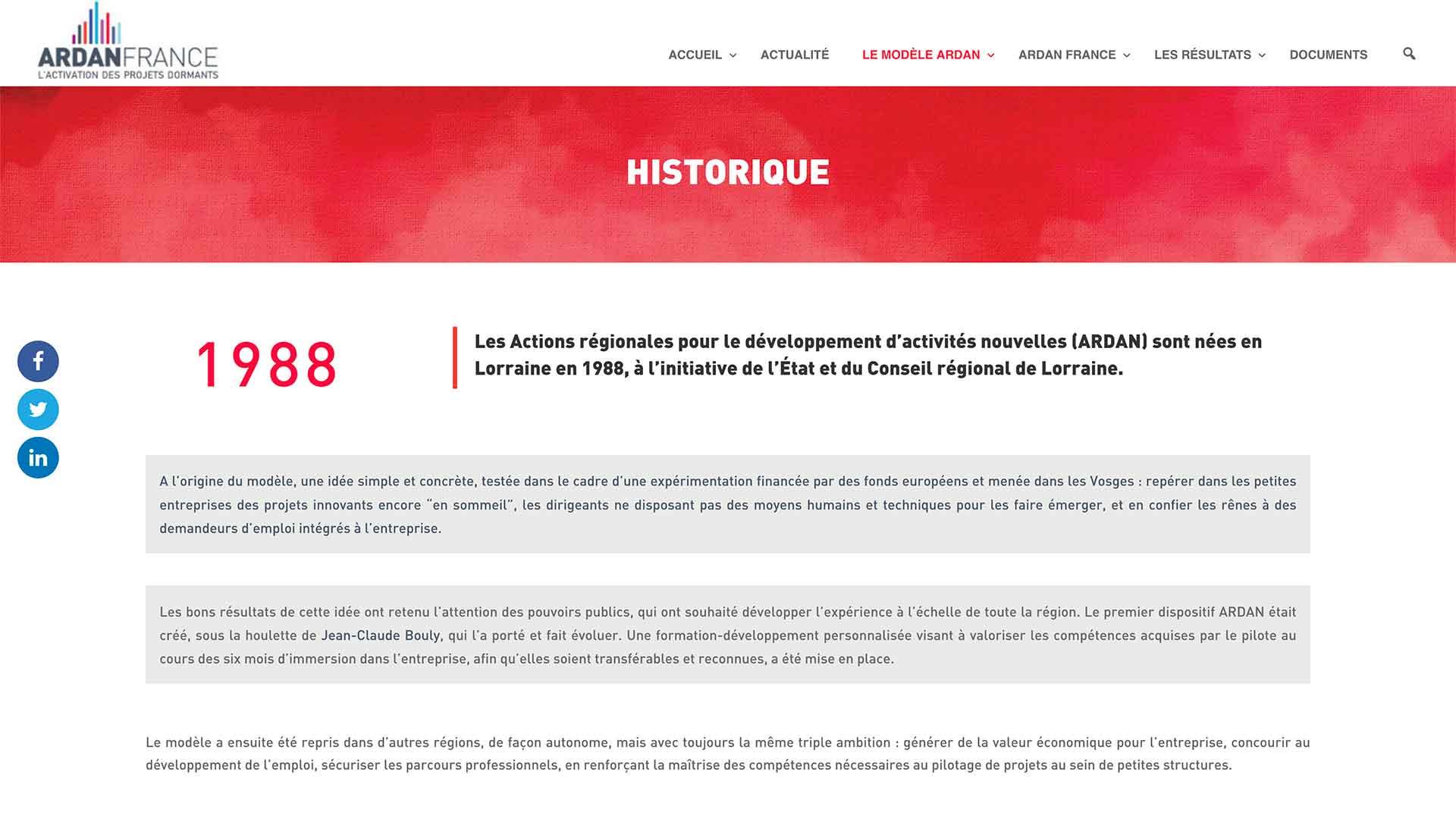 Ardan-France-Historique