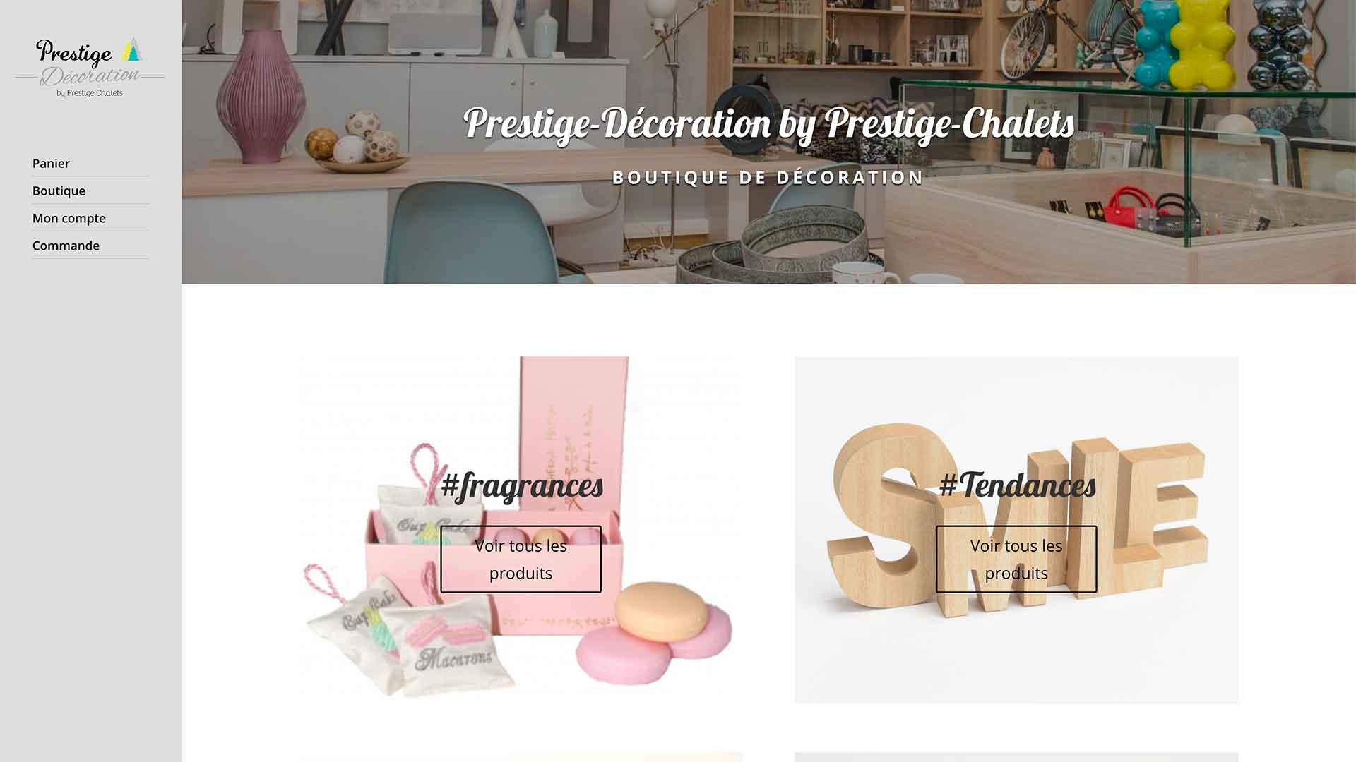 Prestige-Chalets-Shop