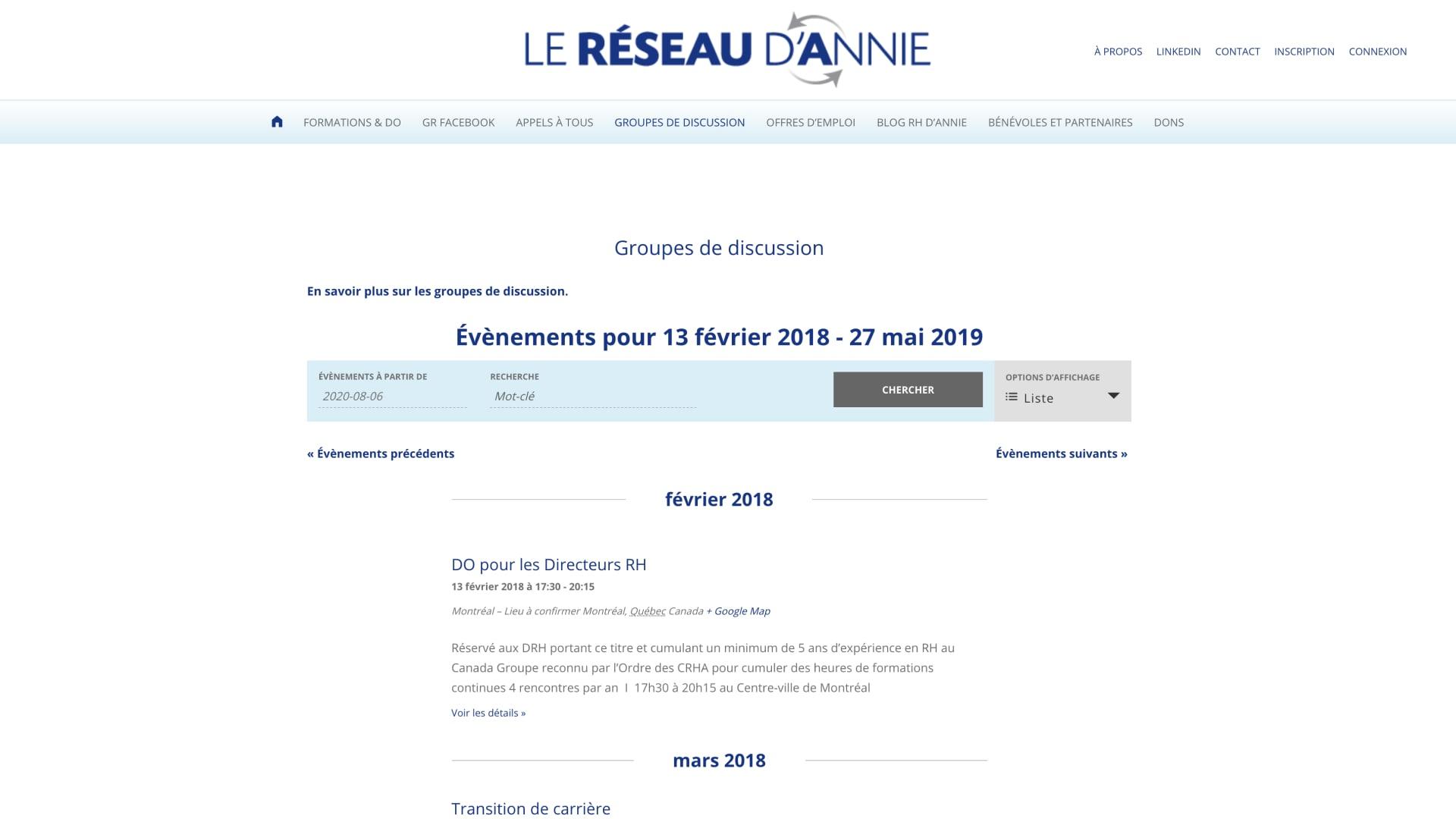 Reseau-Annie-Groupes-Sidney-Malgras-UX-UI-Designer