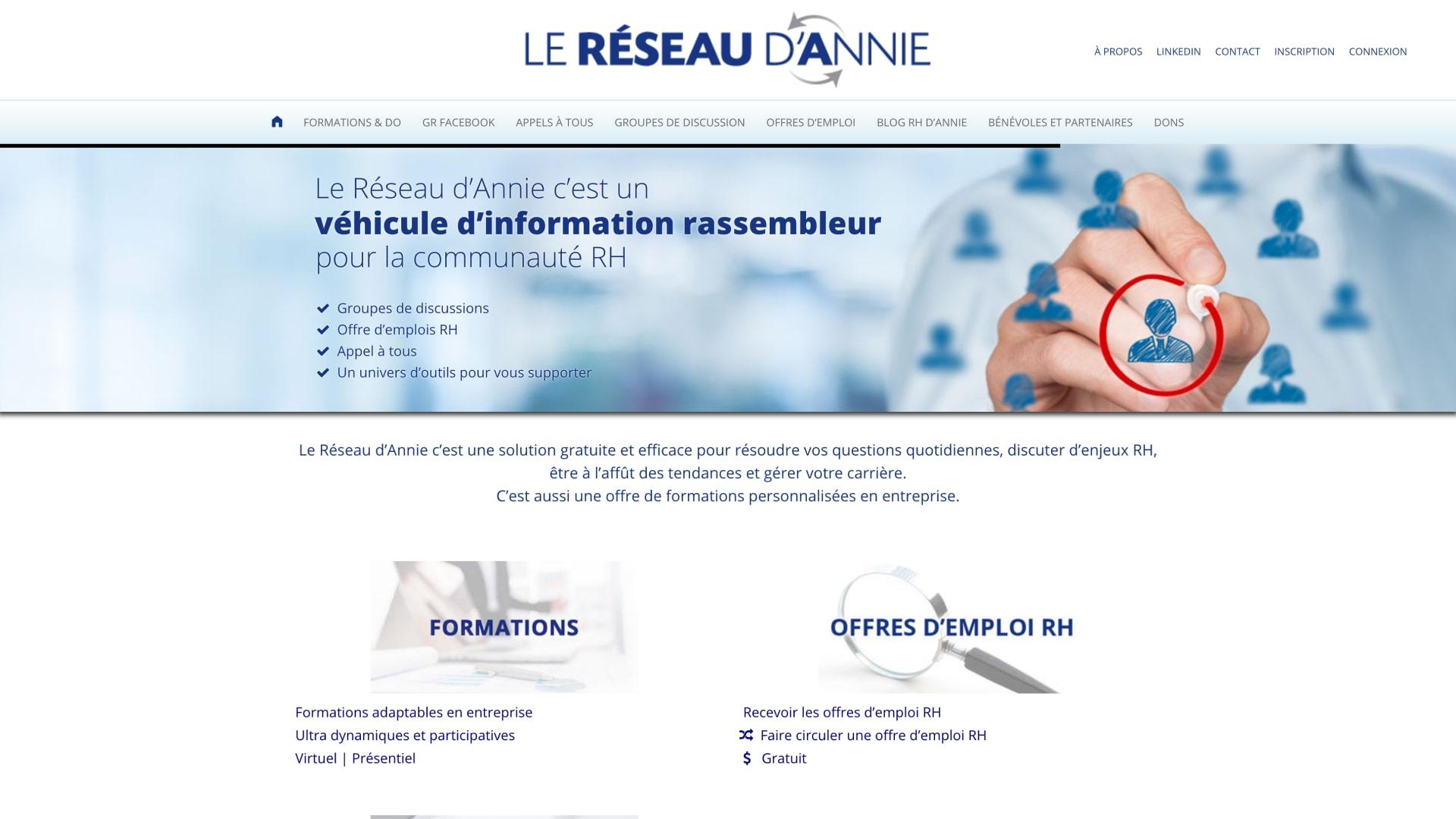 Reseau-Annie-Site-Sidney-Malgras-UX-UI-Designer